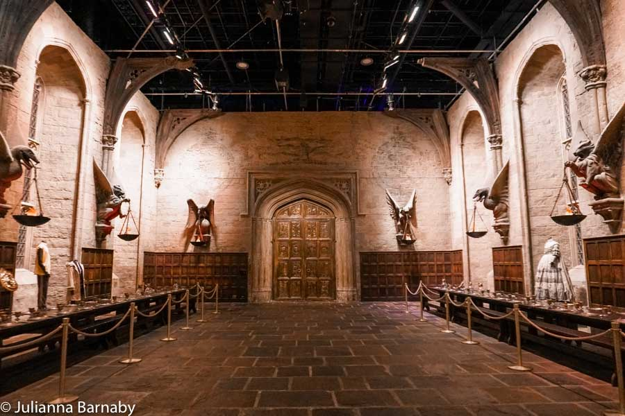 The Harry Potter Dining Hall