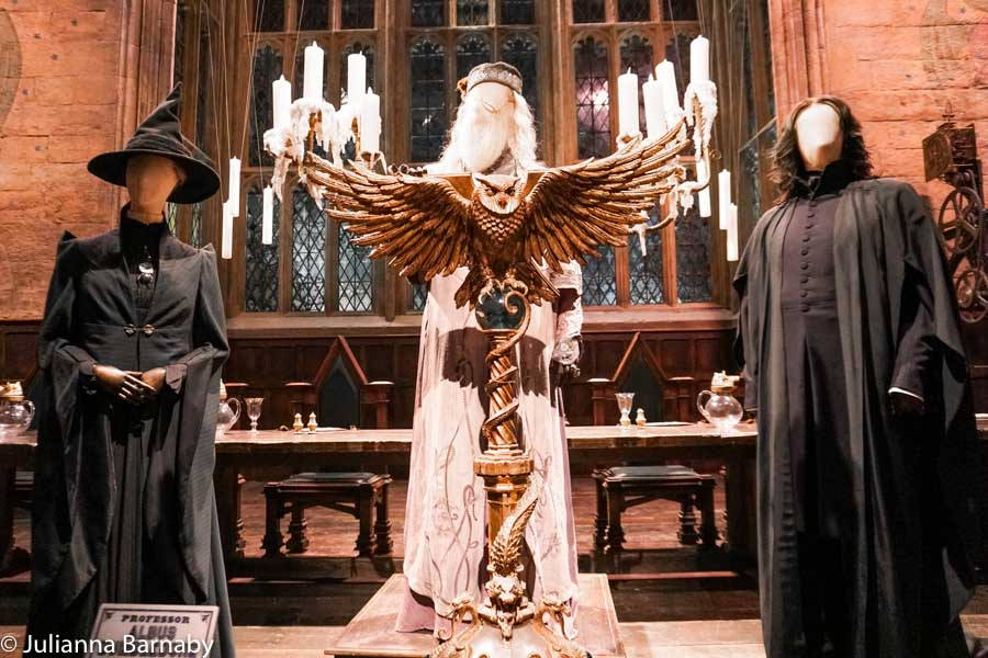 Great Hall - Dumbledore at High Table