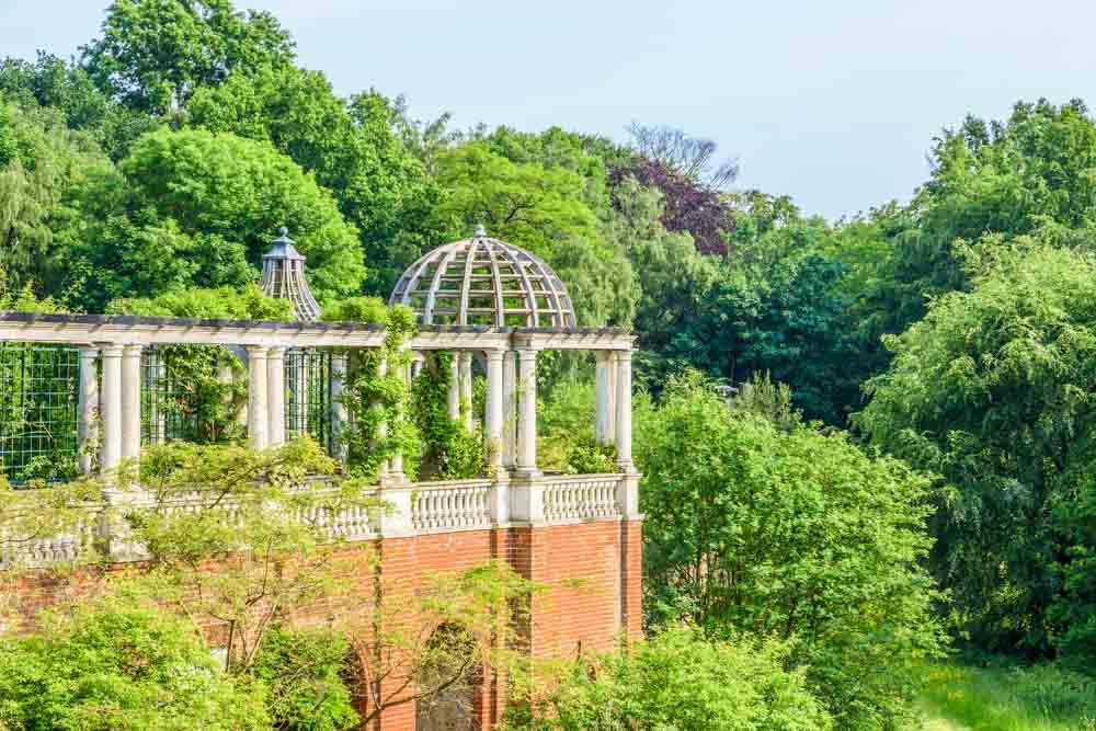 Hampstead Hill Gardens + Pergola
