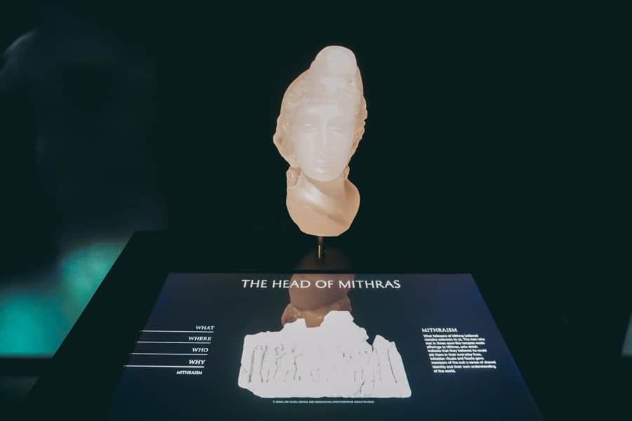 Sculpture of Mithras