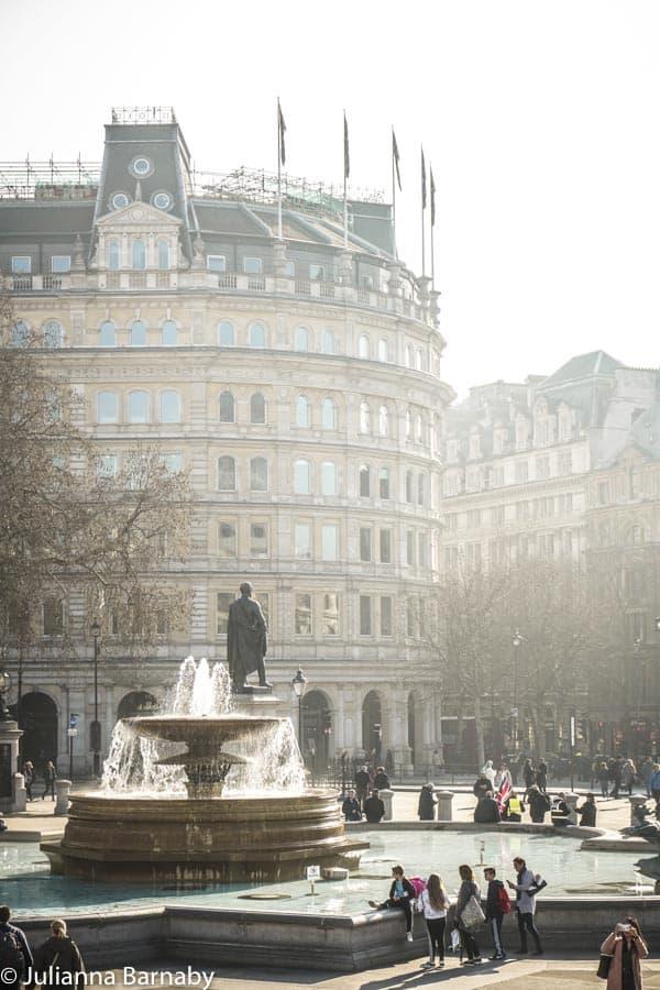 The Fountains on Trafalgar Square